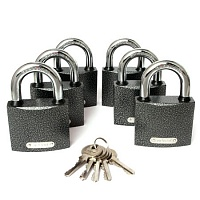 Замок ВС APECS PD-01-63 (6Locks-5Keys)